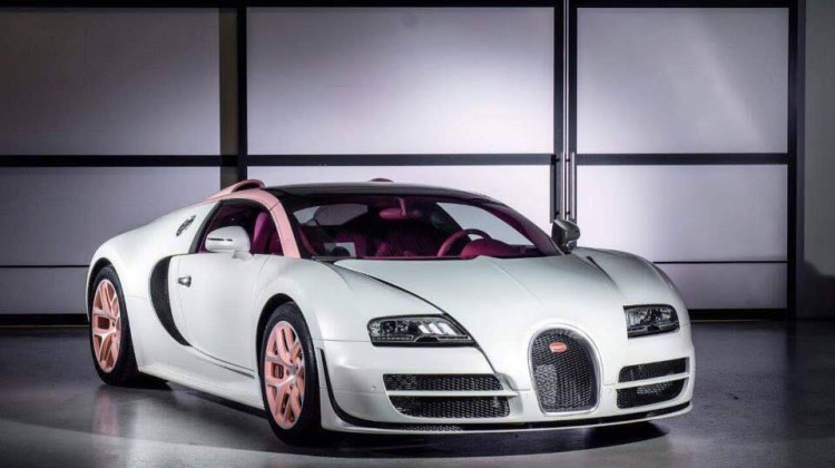 Bugatti Veyron  - Cristal Editon 1 de 1